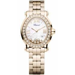 Chopard Happy Sport Oval 7 Floating Diamonds 275350-5004