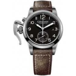 Graham Chronofighter 1695 Steel 2CXAS.B01A