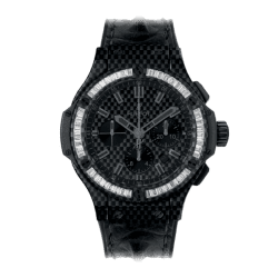 Hublot Big Bang Carbon Bezel Baguette 44 mm 301.QX.1740.HR.1904