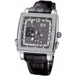 Ulysee Nardin Quadrato Dual Time Perpetual 320-90B/69
