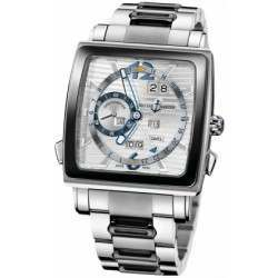 Ulysee Nardin Quadrato Dual Time Perpetual 320-90CER-8M/91