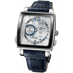 Ulysee Nardin Quadrato Dual Time Perpetual 320-90CER/91
