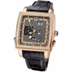 Ulysee Nardin Quadrato Dual Time Perpetual 326-90B/69