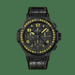Hublot Big Bang Black Fluo Yellow 41mm 341.SV.9090.PR.0911