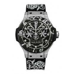 Hublot Big Bang Broderie Steel Diamonds 343.SX.6570.NR.0804