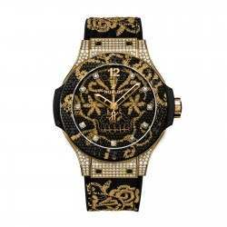 Hublot Broderie Yellow Gold Diamonds 343.VX.6580.NR.0804