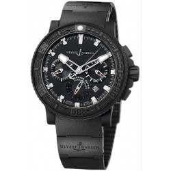 Ulysse Nardin Maxi Marine Diver Black Sea Chronograph 353-92-3C