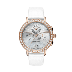 Blancpain Women Chronograph Flyback Grande Date 3626-2954-58A