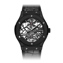 Hublot Classic Fusion Skeleton Tourbillon All Black 505.CM.0140.LR