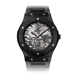 Hublot Classic Fusion Classico Ultra-Thin All Black Bracelet 45mm