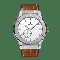 Hublot Classic Fusion Classico Ultra-Thin Titanium White Shiny Dial