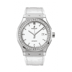 Hublot Titanium White Diamonds 542.NE.2010.LR.1204