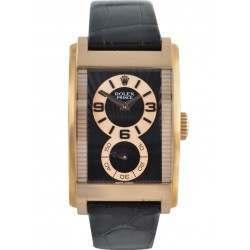 Rolex Prince Black Arab Leather 5442/5