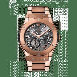 Hublot Classic Fusion Classico Ultra-thin skeleton King Gold Bracelet