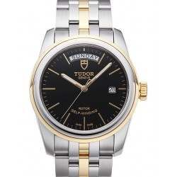 Tudor Glamour Day-Date Black Dial 39mm 56003