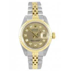 Rolex Lady Datejust after set Champagne Diamond - 69173