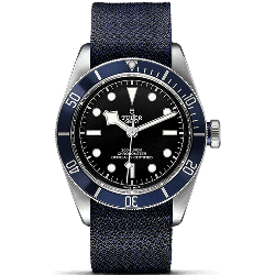 Tudor Heritage Black Bay Blue Fabric 79230B