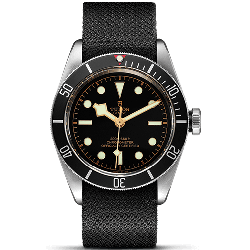 Tudor Heritage Black Bay Black Fabric 79230N