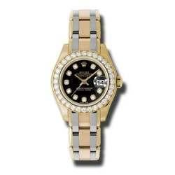 Rolex Lady Pearlmaster Black/diamond 80298