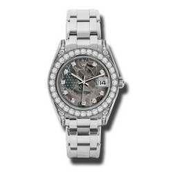 Rolex Pearlmaster 34mm White Gold Goldust Dream diamond 81159
