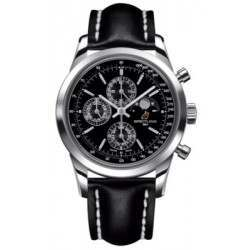 Breitling Transocean Chronograph 1461 Caliber 19 Automatic Chronograph A1931012.BB68.435X