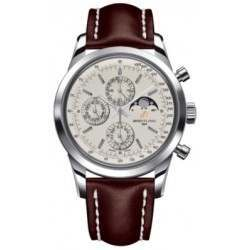 Breitling Transocean Chronograph 1461 Caliber 19 Automatic Chronograph A1931012.G750.437X