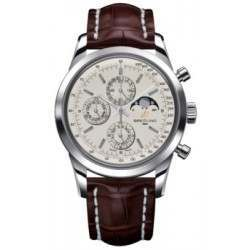 Breitling Transocean Chronograph 1461 Caliber 19 Automatic Chronograph A1931012.G750.739P