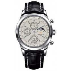 Breitling Transocean Chronograph 1461 Caliber 19 Automatic Chronograph A1931012.G750.743P