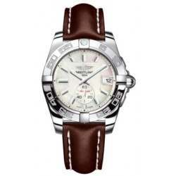 Breitling Galactic 36 (Polished Steel) Caliber 37 Automatic A3733012.A716.416X