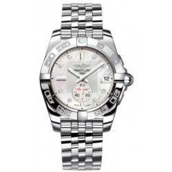 Breitling Galactic 36 (Polished Steel) Caliber 37 Automatic A3733012.A717.376A