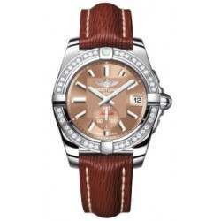Breitling Galactic 36 (Polished Steel/ Diamonds) Caliber 37 Automatic A3733053.Q582.216X