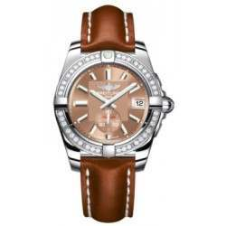 Breitling Galactic 36 (Polished Steel/ Diamonds) Caliber 37 Automatic A3733053.Q582.412X