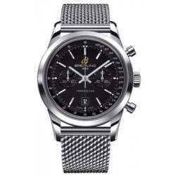 Breitling Transocean Chronograph 38 Caliber 41 Automatic A4131012.BC06.149A