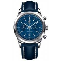 Breitling Transocean Chronograph 38 Caliber 41 Automatic A4131012C862113X