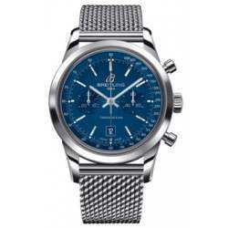 Breitling Transocean Chronograph 38 Caliber 41 Automatic A4131012.C862.149A