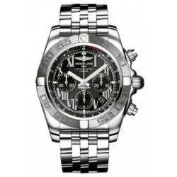 Breitling Chronomat 44 (Polished & Satin) Caliber 01 Automatic Chronograph AB011011.B956.375A