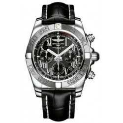 Breitling Chronomat 44 (Polished & Satin) Caliber 01 Automatic Chronograph AB011011.B956.743P