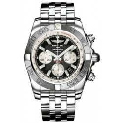 Breitling Chronomat 44 (Polished & Satin) Caliber 01 Automatic Chronograph AB011011.B967.375A