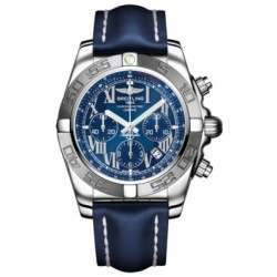 Breitling Chronomat 44 (Polished & Satin) Caliber 01 Automatic Chronograph AB011011.C783.105X
