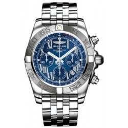 Breitling Chronomat 44 (Polished & Satin) Caliber 01 Automatic Chronograph AB011011.C783.375A