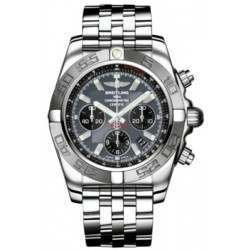 Breitling Chronomat 44 (Polished & Satin) Caliber 01 Automatic Chronograph AB011011.F546.375A