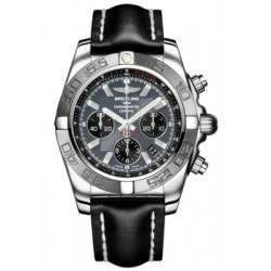 Breitling Chronomat 44 (Polished & Satin) Caliber 01 Automatic Chronograph AB011011.F546.435X