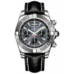 Breitling Chronomat 44 (Polished & Satin) Caliber 01 Automatic Chronograph AB011011.F546.743P