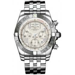 Breitling Chronomat 44 (Polished & Satin) Caliber 01 Automatic Chronograph AB011011.G676.375A
