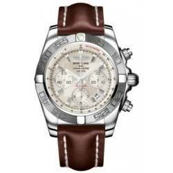 Breitling Chronomat 44 (Polished & Satin) Caliber 01 Automatic Chronograph AB011011.G684.437X