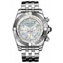 Breitling Chronomat 44 (Polished & Satin) Caliber 01 Automatic Chronograph AB011011.G685.375A
