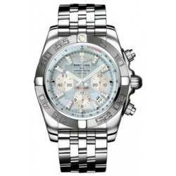 Breitling Chronomat 44 (Polished & Satin) Caliber 01 Automatic Chronograph AB011011.G686.375A