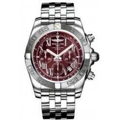 Breitling Chronomat 44 (Polished & Satin) Caliber 01 Automatic Chronograph AB011011.K522.375A