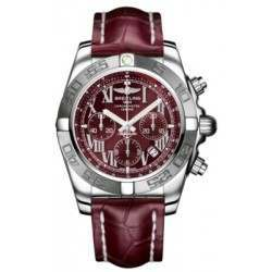 Breitling Chronomat 44 (Polished & Satin) Caliber 01 Automatic Chronograph AB011011.K522.735P