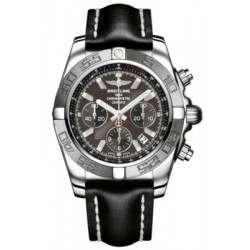 Breitling Chronomat 44 (Polished & Satin) Caliber 01 Automatic Chronograph AB011011.M524.435X
